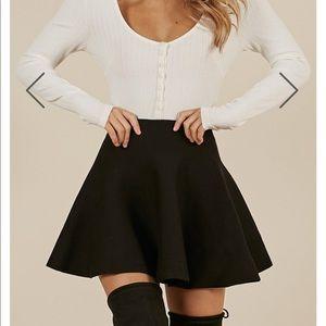 Real Deal Black Skirt